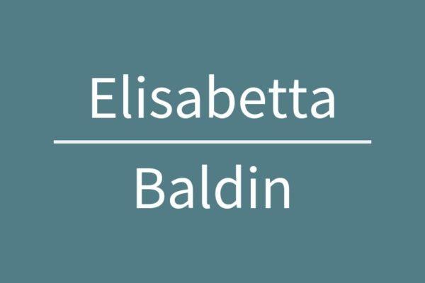Elisabetta Baldin