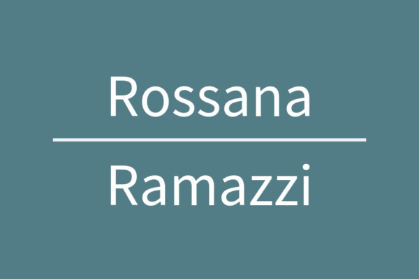 Rossana Ramazzi